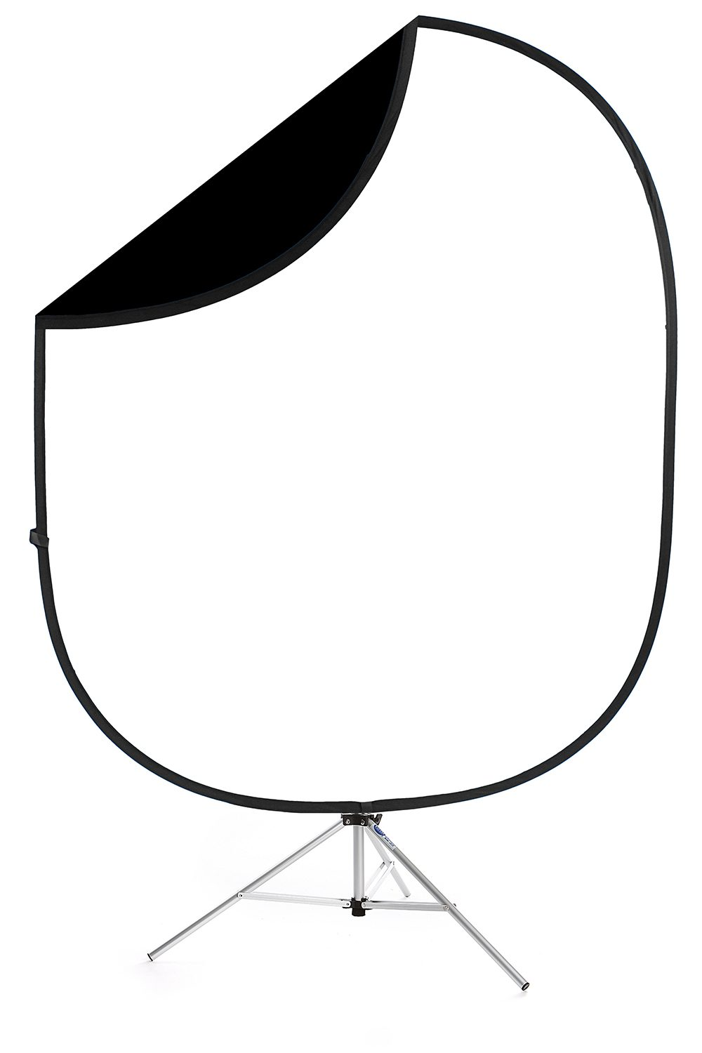 savage black white collapsible backdrop