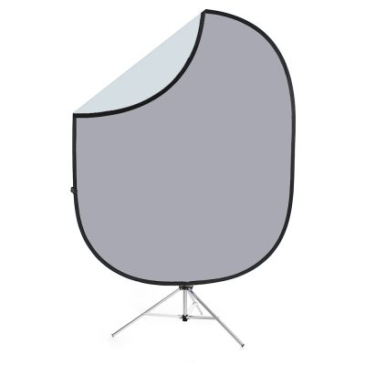 savage gray collapsible backdrop