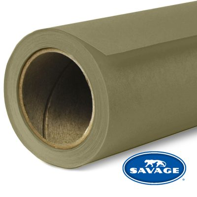 Olive Green Seamless Paper