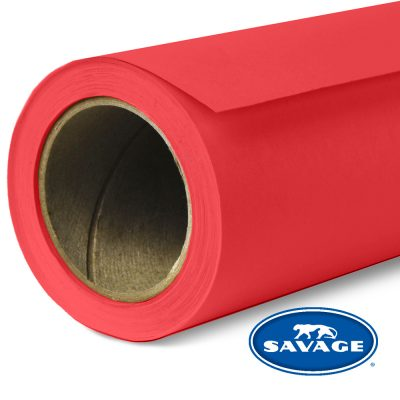 Primary Red Seamless Paper