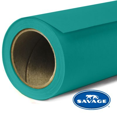 Teal Seamless Paper