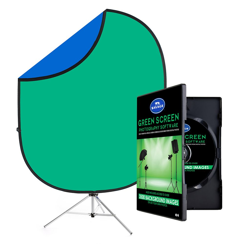 Savage Green Screen Digital Photography Kit