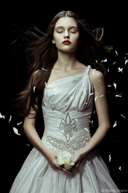 Paper Backdrops with Zhang Jingna Photography