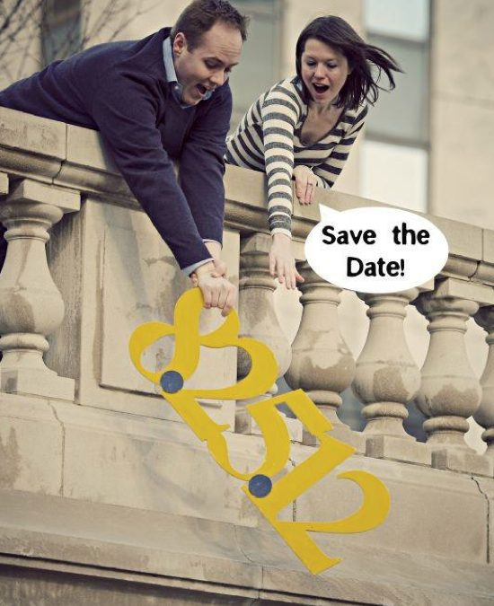 11 Creative Save the Date Photo Ideas