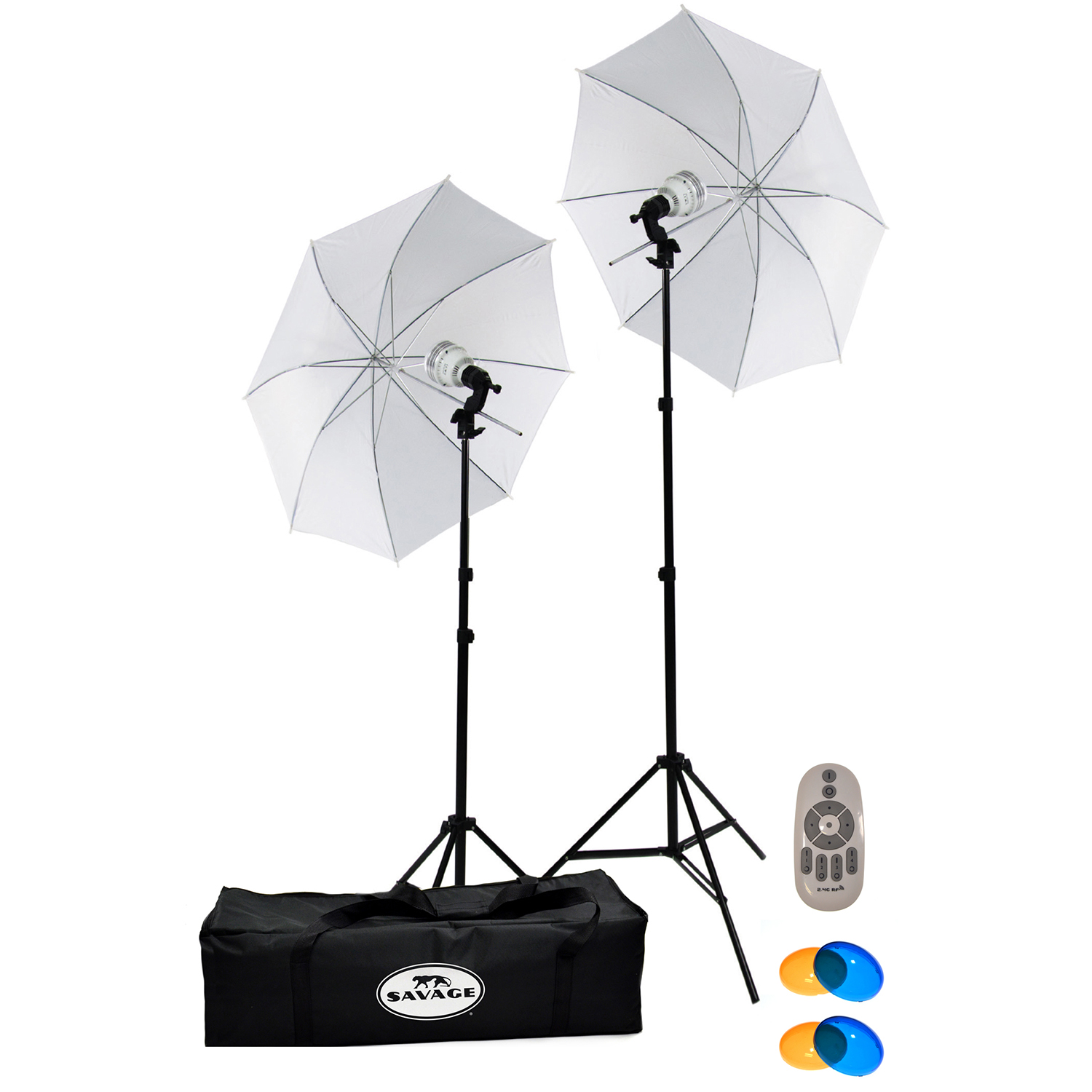 savage 700 watt led studio light kit