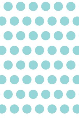 Savage Aqua Polka Dot Printed Background
