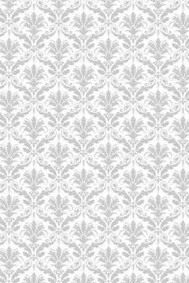Savage Gray Floral Printed Background