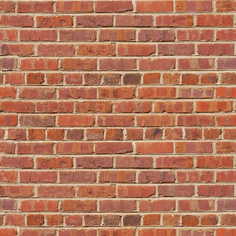 Red Brick Printed Background Paper
