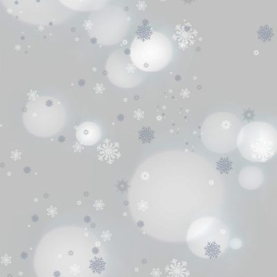 Winter Frost Printed Background Paper