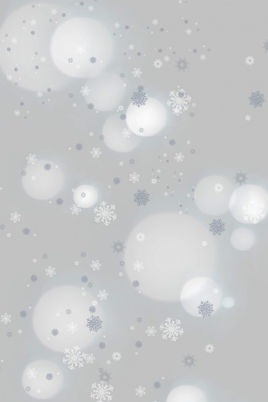 Savage Winter Frost Printed Background