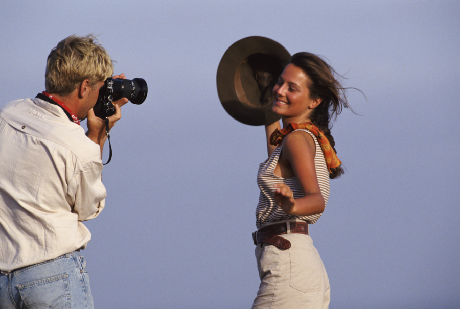outdoor photography at sunset
