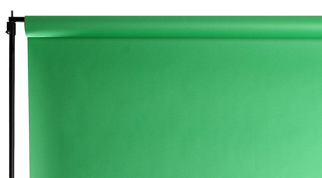 How to Choose a Green Screen Backdrop