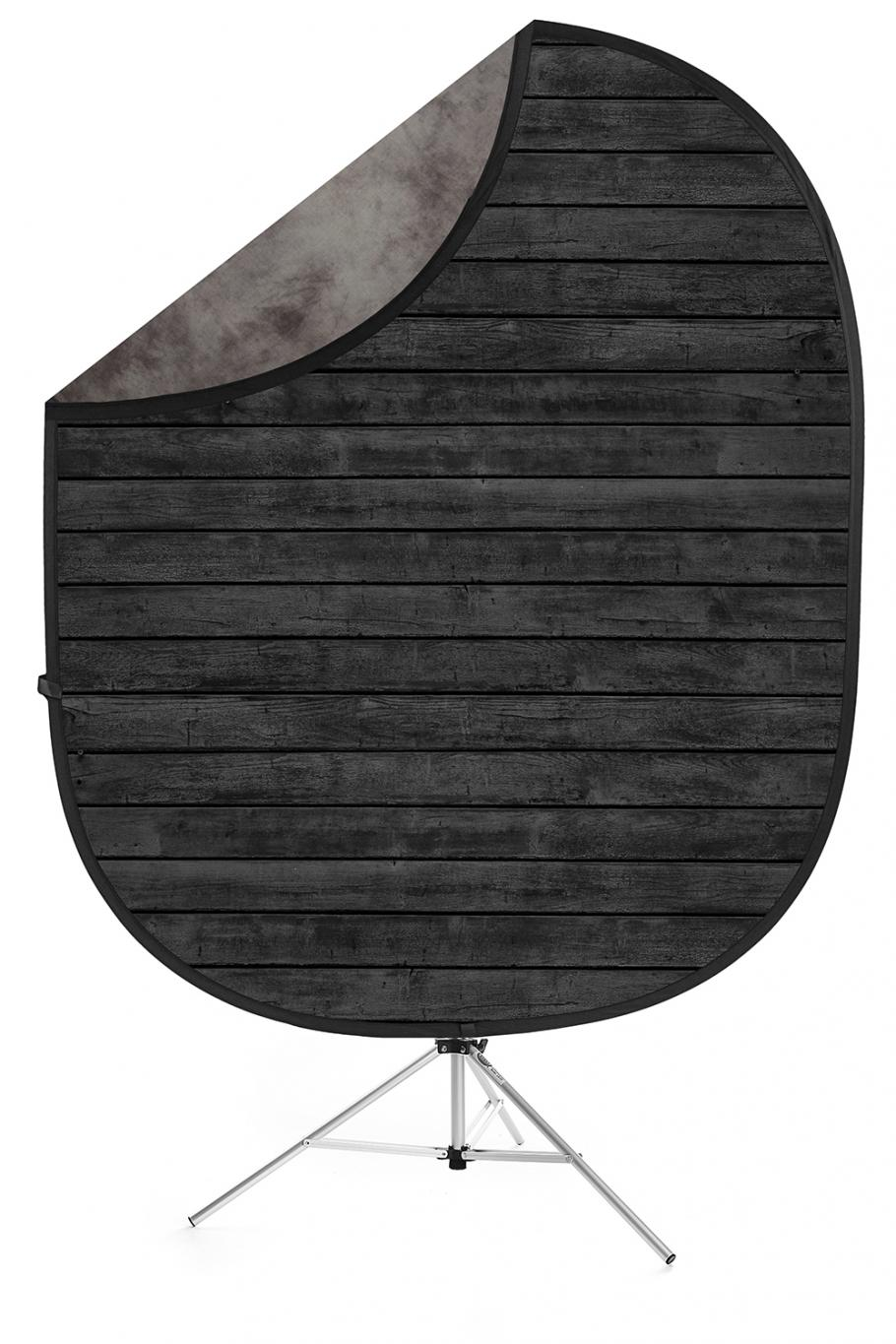 savage dark planks light gray collapsible backdrop