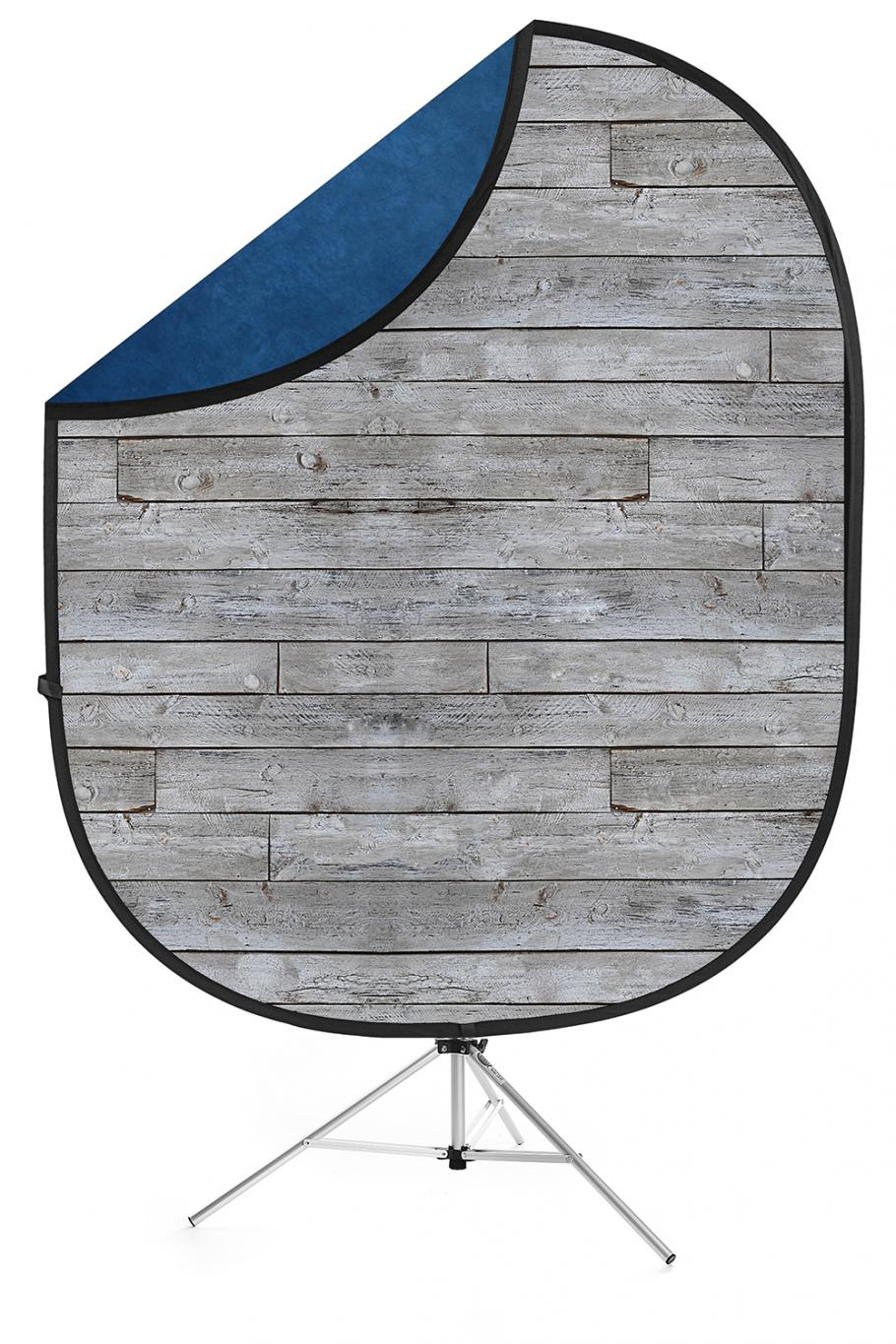 savage gray pine blue collapsible backdrop