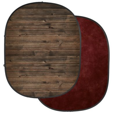 savage grunge classics rustic planks red collapsible backdrop