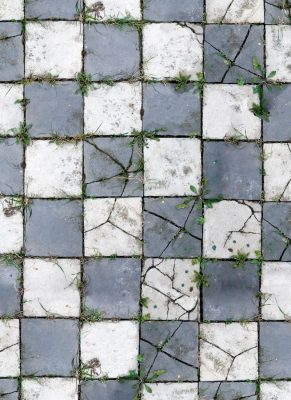 Aged Pavers Floor Drop Image 1