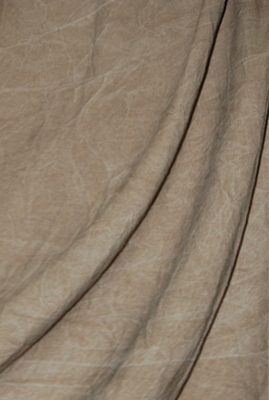 Brown Washed Muslin Backdrop Image 1