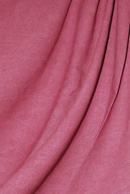 Cranberry Washed Muslin Backdrop Image 1