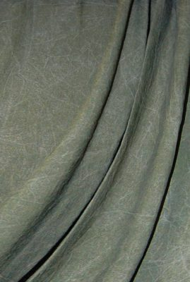 Forest Green Washed Muslin Backdrop Image 1
