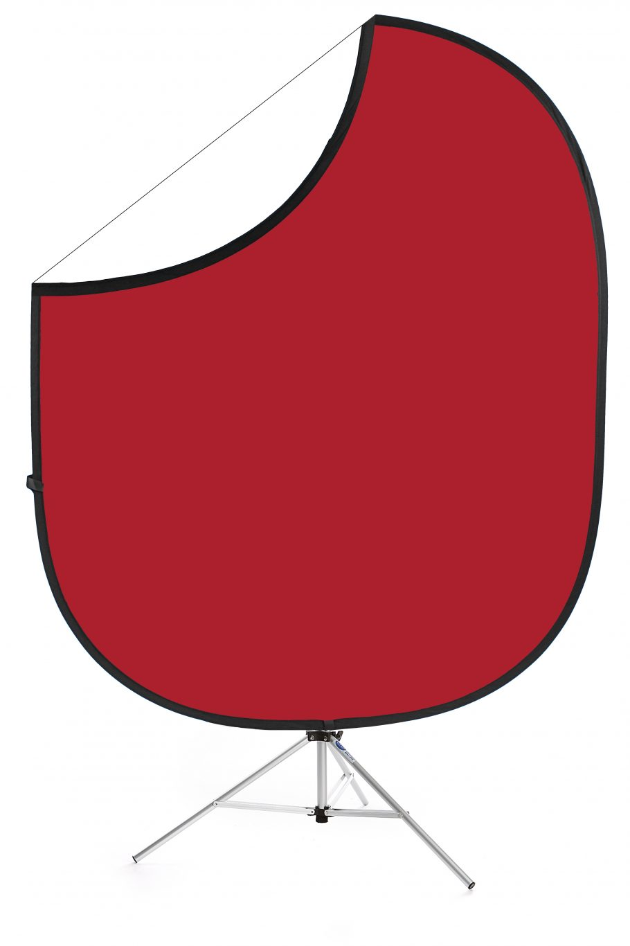 Matador Red/White Collapsible Backdrop Image 1