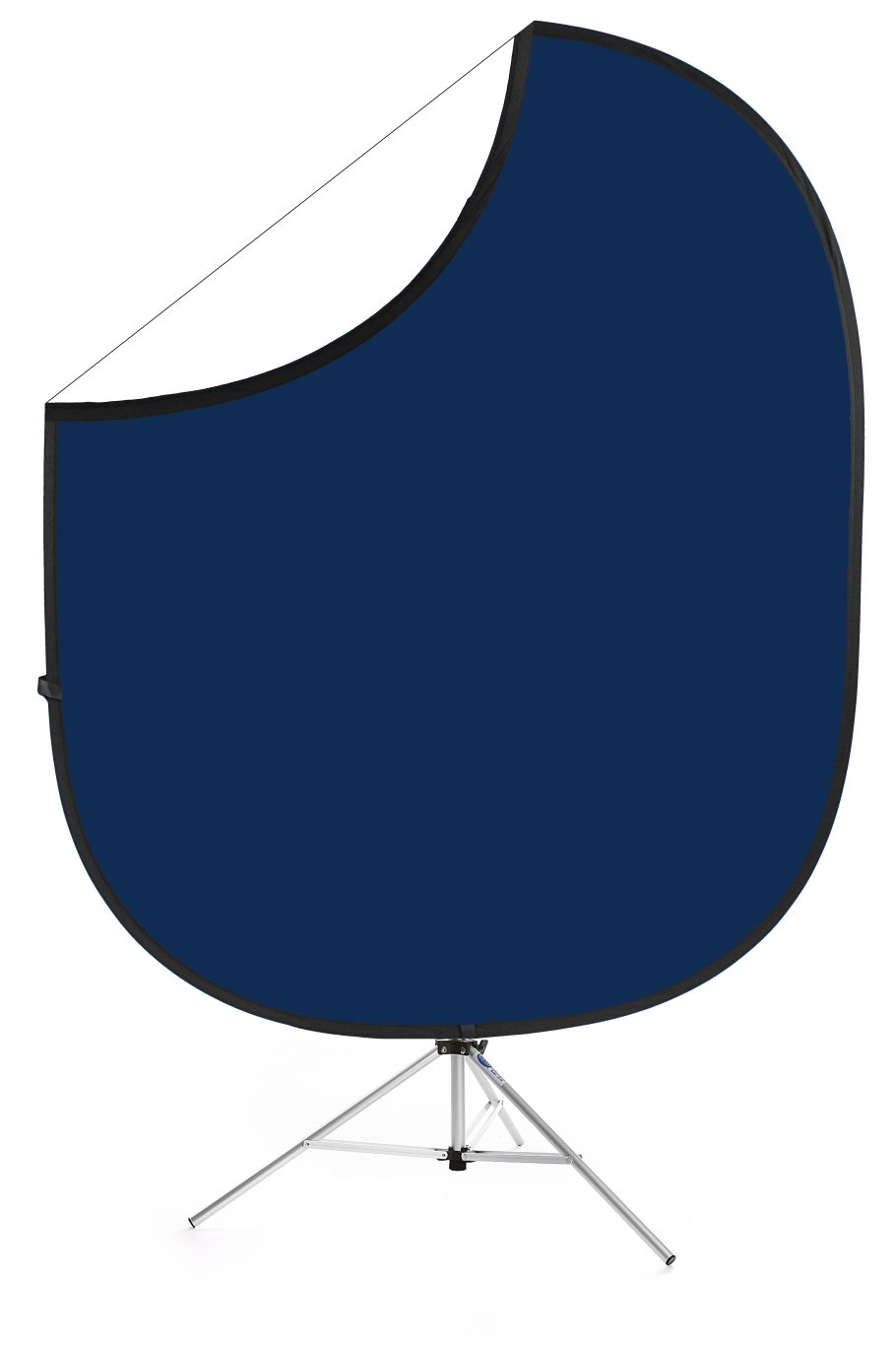 Navy/White Collapsible Backdrop Image 1
