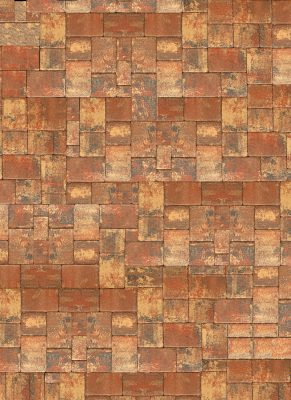 Rustic Pavers Floor Drop Image 1