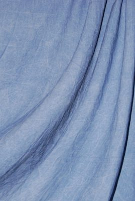 Sky Blue Washed Muslin Backdrop Image 1