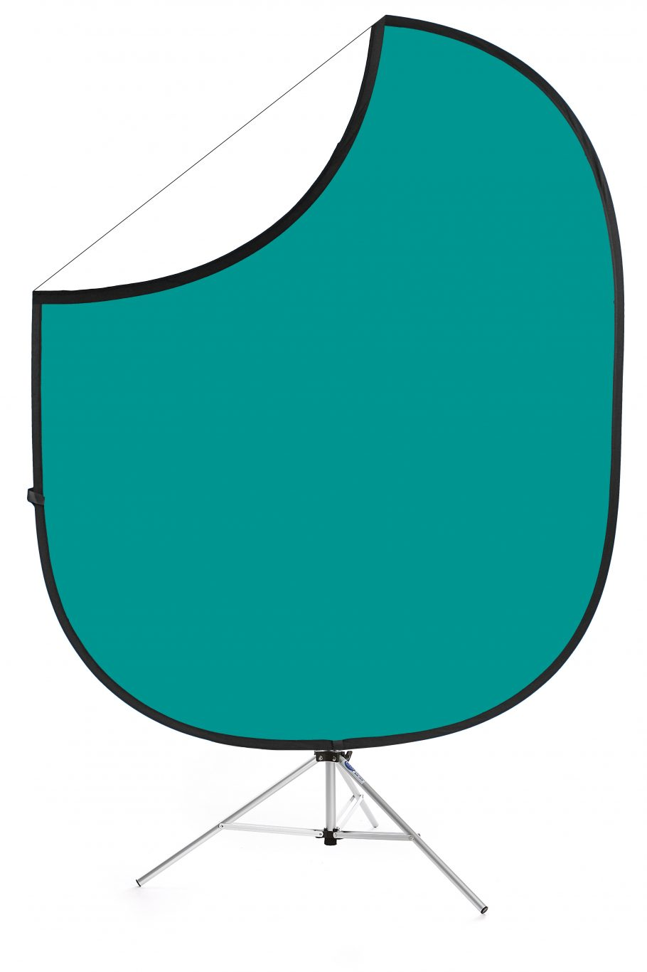 Teal/White Collapsible Backdrop Image 1