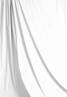 White Solid Muslin Backdrop Image 1