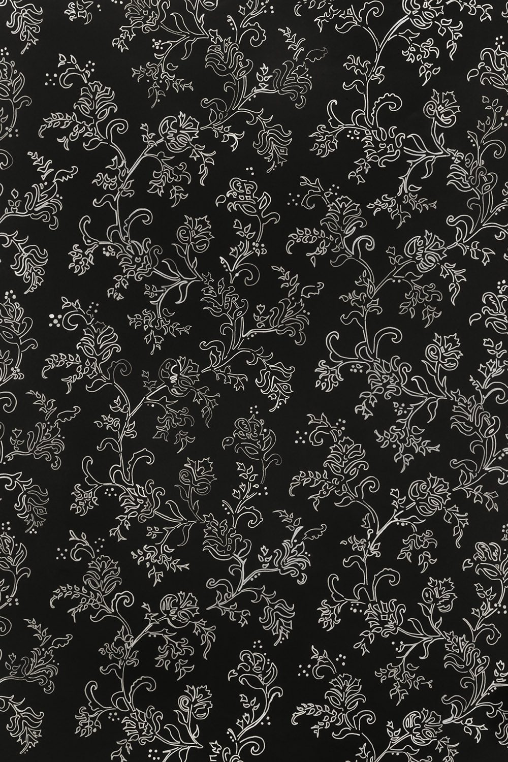 Black And White Floral Printed Vinyl Backdrop Savage Universal
