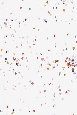 Colorful Confetti Printed Vinyl Backdrop