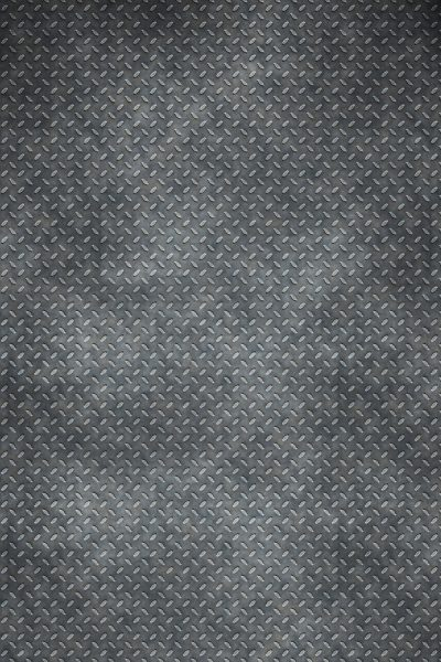 Distressed Diamond Plate Printed Vinyl Backdrop