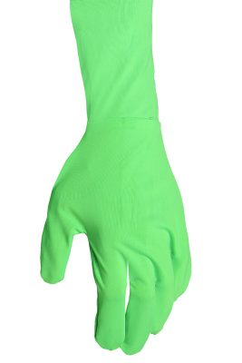 savage green screen suit gloves