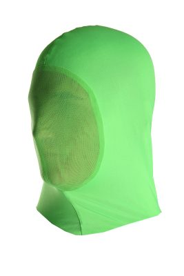 savage green screen suit hood