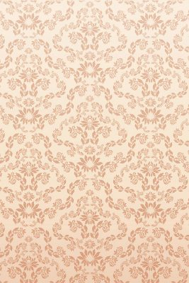 Peach Lacy Pattern Printed Vinyl Backdrop