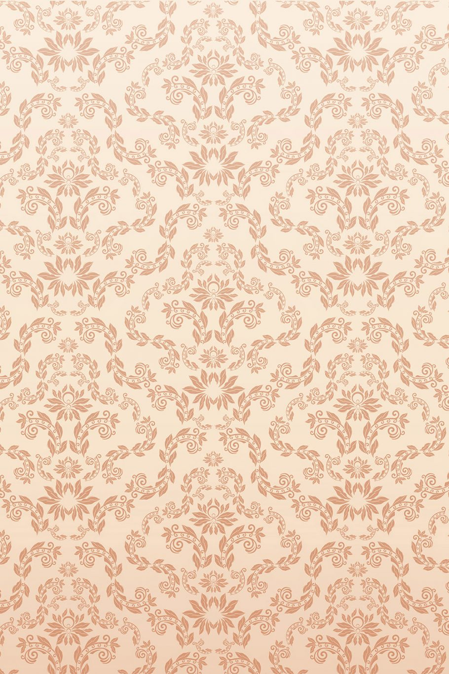 Peach Lacy Pattern Printed Vinyl Backdrop | Savage Universal