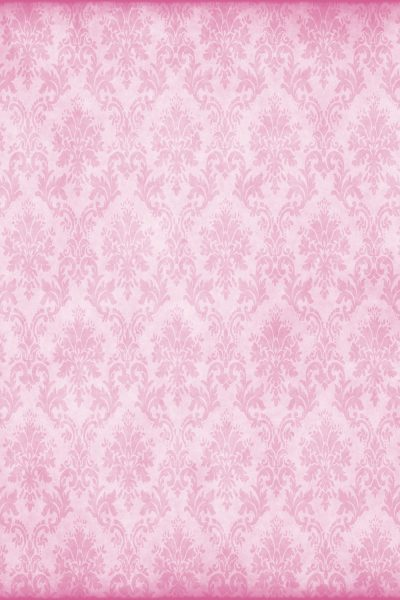 Pink Damask Printed Vinyl Backdrop