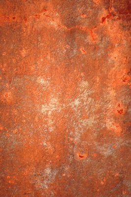 Rusted Metal Printed Vinyl Backdrop