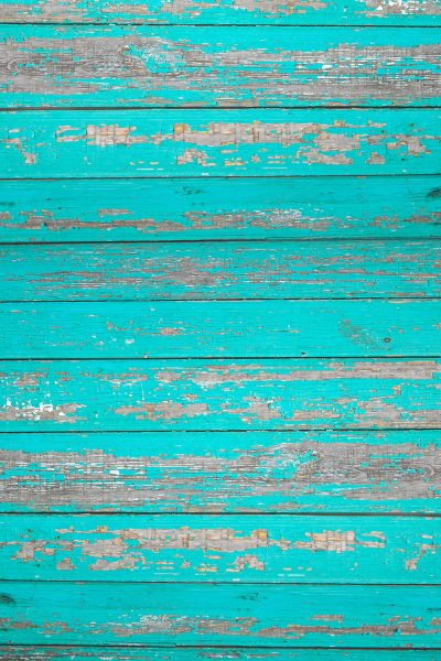 Rustic Teal Wood Printed Vinyl Backdrop