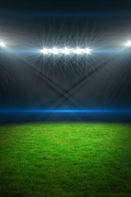 Stadium Lights Printed Vinyl Backdrop