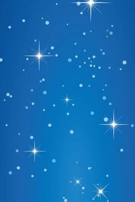 Twinkling Night Sky Printed Vinyl Backdrop