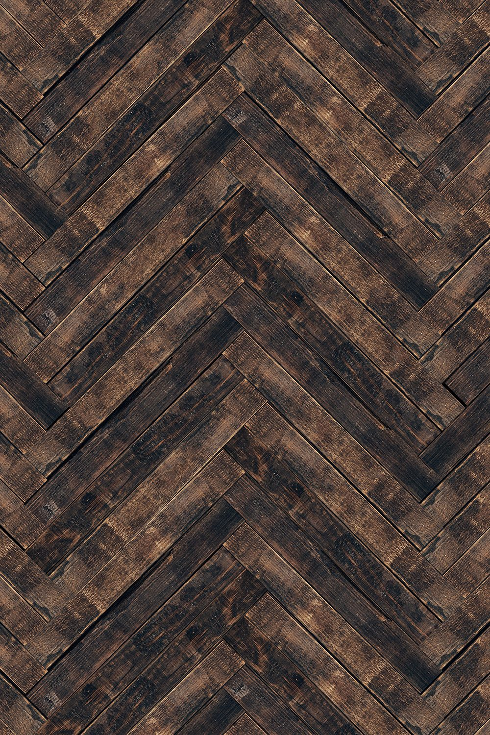 Vintage Herringbone Printed Vinyl Backdrop