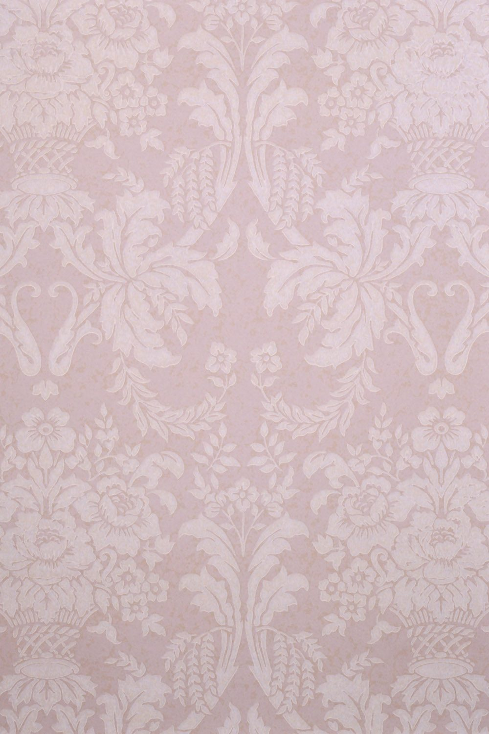 Vintage Pink Wallpaper Printed Vinyl Backdrop