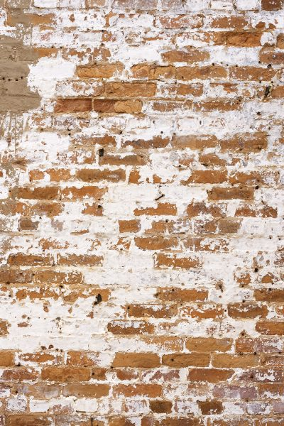 Weathered Brick Wall Printed Vinyl Backdrop