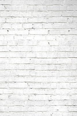 White Brick Printed Vinyl Backdrop