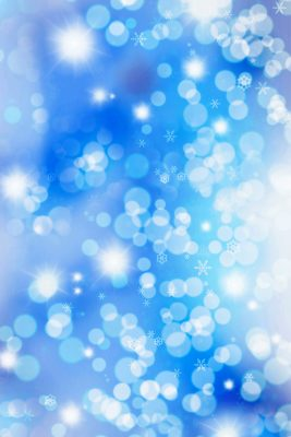 Winter Sparkle Printed Vinyl Backdrop
