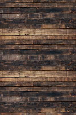 Worn Brown Wood Printed Vinyl Backdrop