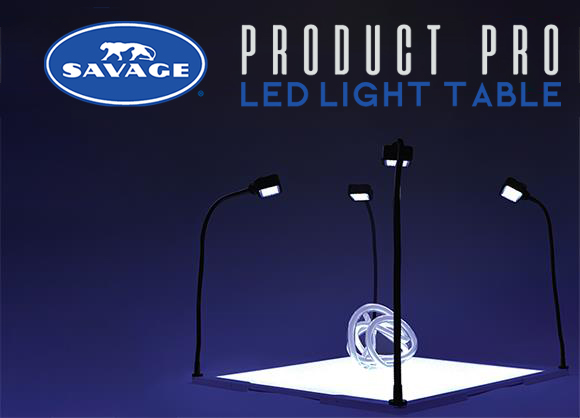 The Savage Product Pro LED Light Table: The Ideal Solution to Capturing High Key Product Photography with Ease