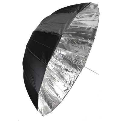 Savage's Black/Silver Deep Umbrella