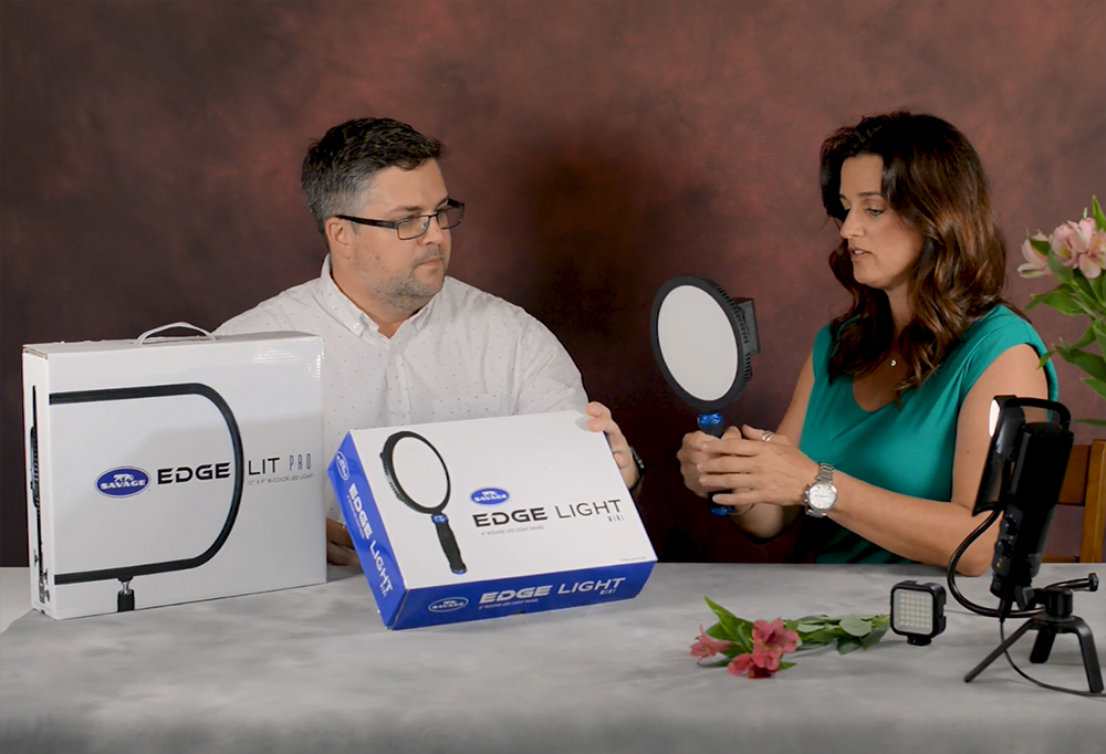 A Look at the New Savage Edge Lit LED Light Series with David J. Crewe & Monica Royal